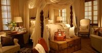 Layer rugs, layer window treatments, layer accessories, layer bedding.