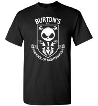 Burton's School Of Nightmares Unisex T-Shirt $15.00 https://www.nurdtyme.com