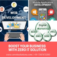 ZERO IT SOLUTIONS is a leading firm which offers Best Website and App design services all around US & India. �€œOur motive is to improve over-all growth of clients business and generate higher revenue with quality services.�€ We offer...