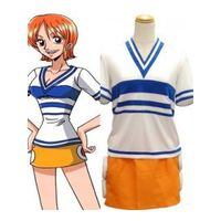 One Piece NAMI T-shirt Cosplay Costume