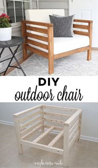 DIY Wood Chair