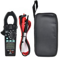 FUYI FY3267S Digital Amper Clamp Meter Multimeter 6000 counts Current Clamp Pincers Voltmeter Ammeter 600A AC/DC Ohm Voltage Tester