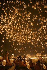 sky lanterns for a grand exit