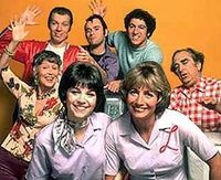 Laverne and Shirley...This was a great show! Even as a punk teen I knew this was good entertainment......Schlemiel! Schlimazel! Hasenpfeffer Incorporated. The only thing is the girls didn't realize that Lenny and Squiggy made the whole show possible. ...
