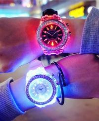 Never again struggle to tell the time and always know what day it is with a new or used LED watch. You can find a piece to fit your style on Lightupify.