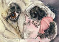 Thispostwas discovered by Linda Bass. Discover (and save!) your own Pins on Pinterest. | See more about watercolor print, english bulldogs and dogs.