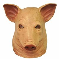 Blood Pig Latex Mask https://costumecauldron.com