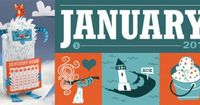 Calendar of the Month Club! - so cute and clever... best of all FREE! http://curiositygroup.com/calendarofthemonth/