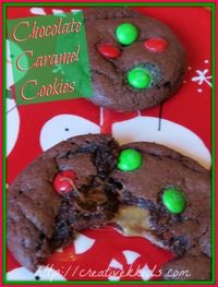 Today I am doing a guest post over at The Taylor House. Go there to see my Chocolate Caramel Cookie recipe!