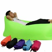 High Quality Outdoor Portable Air Pocket Inflatable Collapsible Sofa Bed $51.99