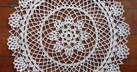 Love it - free doily pattern
