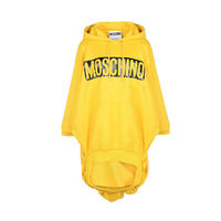 Moschino Dangerous Couture Caution Long Sleeves Sweatshirt Yellow