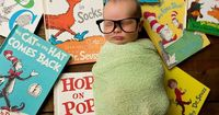 Dr. Suess baby and glasses, one of my most requested poses :) Shannon Payne Photography | Nashville Newborn Photographer