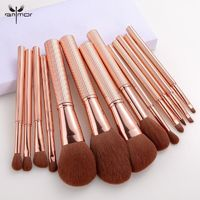 �Ÿ˜�ANMOR 13 Pcs Makeup Brushes Set Powder Blush Eye Shadow Blending Eyeshadow Make Up Brush Top Quality Pincel Maquiagem�Ÿ˜� $32.98