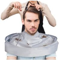 �Ÿ˜�Hair Accessories 1pc Hair Warp DIY Hair Cutting Cloak Umbrella Cape Salon Barber Home Hairdressing Cape Cover Cloth 19 Jan08�Ÿ˜� $7.26