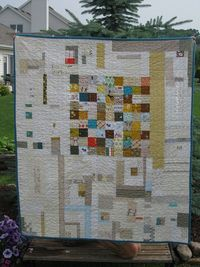 apotospitimou: Baby quilt by Krousegirl2 on Flickr.
