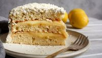A version of this golden, tart-sweet confection was served at the 76th birthday of the legendary Southern chef, Edna Lewis It is a true labor of love, so be sur