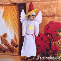 Angel Christmas Elf Outfit
