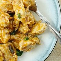 Sweet and savory caramelized chicken is ready when you are after cooking all day in your slow cooker.