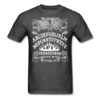 https://stuffofthedead.myshopify.com/products/ouija-angel-board-mens-t-shirt
