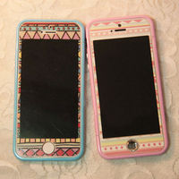 Bohemia Style Embossed Luminous Phone Shell Case for iphone5/5S/4/4S