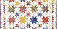 Stars in Mama's Kitchen Free Pattern: Robert Kaufman Fabric Company