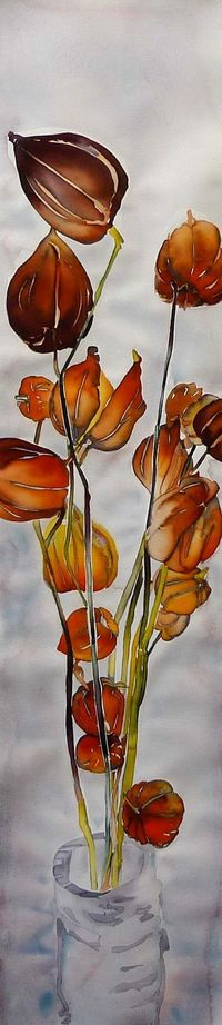 Chinese Lanters- �€œHere Comes Fall�€ by Carol Carter