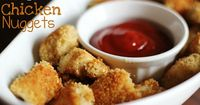Be sure andjoin me on Facebookfor the latest updates on new recipes!I am always on the look out for new lunch foods for my toddler. She is a very picky eater and I would love to have her get the most nutrition possible. These HEALTHY Chicken Nug...