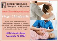 If you are interested in a free consultation or need help finding a chiropractor in the Pensacola area, contact us today! https://derekfingerdc.com/