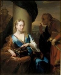 A useless moral lesson Godfried Schalcken - Date unknown