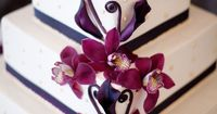 Orchid cake