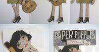 Paper Puppets {Sara Guindon}