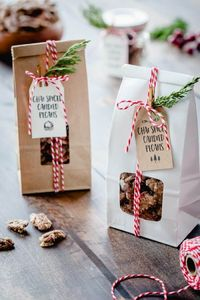 Chai Spiced Candied Pecans are sweet, crunchy and totally delicious! They're perfect for holiday gift giving.