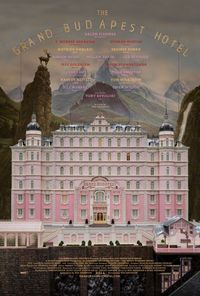 The Grand Budapest Hotel, poster