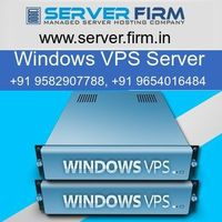 Server Firm offers the best Windows VPS server in India at the most affordable prices. The window VPS server plans at Server Firm is available at the lowest cost so that even small and medium sized business can afford it. Our windows VPS server is very re...