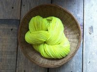 neon yarn! remodelista. The perfect splash of spring color to brighten up winter.