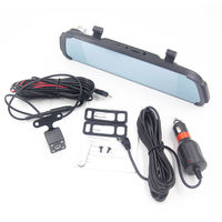 C038 7 Inch 1080P Touch Rear View Car DVR Camera Video Recording 170 Degree Wide Angle