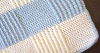 Crochet Baby Blue Afghan - Crafts by Starlight free pattern
