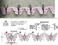 Angels Cradle--butterfly garland