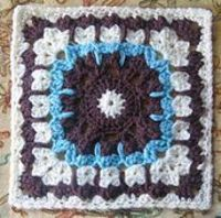 "Ravelry: See How They Run 12"" Afghan Block pattern by Margaret MacInnis"