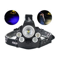 XANES® 2408B 2500LM Dimmed Version Mechanical Zoom Headlamp For Camping Hunting Cycling 2x18650 Battery USB Interface