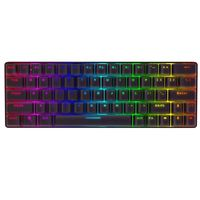 BlitzWolf® BW-KB1 Wireless bluetooth Keyboard Gateron Switch RGB 63 Keys Type-C Mechanical Gaming Keyboard