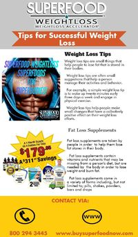 Tips for Weight Loss by Buysuperfoodnow.com