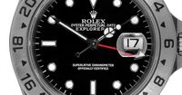 Men's Stainless Steel Rolex Watch.