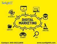 Best Digital Marketing services in Hyderabad Sunlight IT provides high standard Digital Marketing services in Hyderabad by creating an online presence for your business which attracts more visitors by which your own brand is created.  Services: Digital ...