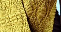 Beautiful knit cowl with awesome texture.