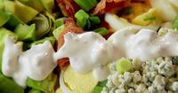 Cobb Salad with Blue Cheese Dressing recipe from Ree Drummond via Food Network (Season 10 -- Freezer Fundamentals)