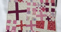 Dizzy Quilts: Pink Baby Quilt