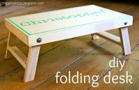 "That's My Letter: ""F"" is for Folding Desk"