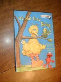 It's Not Easy Being Big! by Stephanie St. Pierre (1998) for sale at Wenzel Thrifty Nickel ecrater store